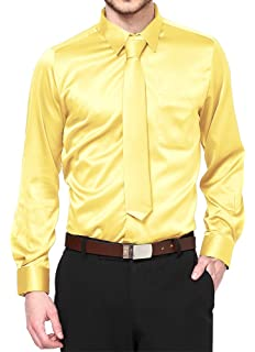 Elegant Boys Button Down Lime 726 Dress Shirt//Necktie//Hanky