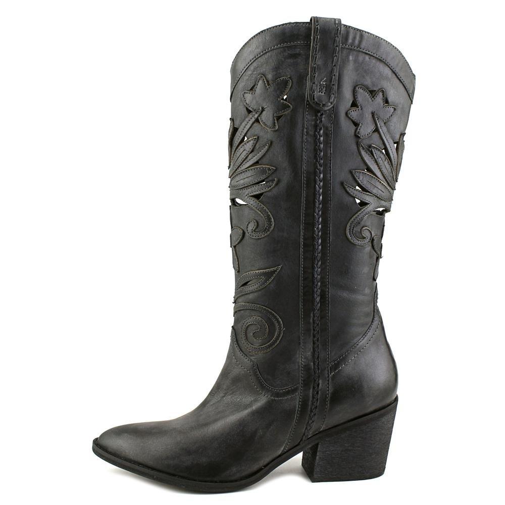 Carlos by Carlo Santana Toe Womens Ace Leather Closed Toe Santana Mid-Calf Cowboy Boots B01DK9QBK0 10 B(M) US|Grey 3c6aab