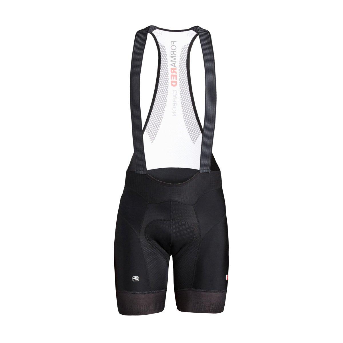 Giordana 2018メンズfr-c Pro Cycling Bib Shorts – 5 cm Shorter Leg – gics18-bibs-frc5-blck B0797G75FG XX-Large|ブラック ブラック XX-Large