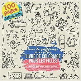 Livre De Coloriage Pour Les Filles Plus De 200 Pages Sirene