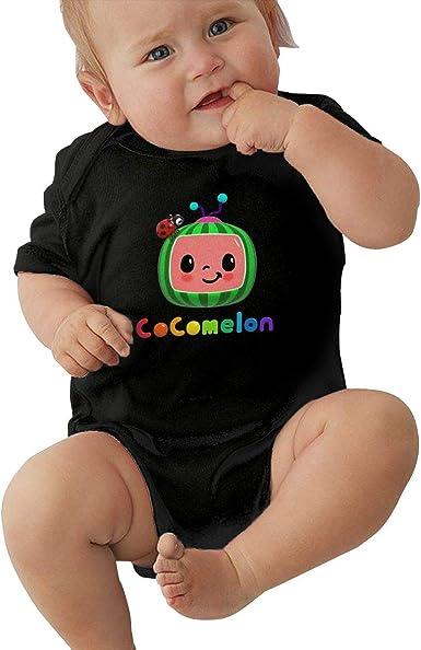 Amazon Com Kangtians Baby Cocomelon Shirt Short Sleeve Bodysuit Clothing