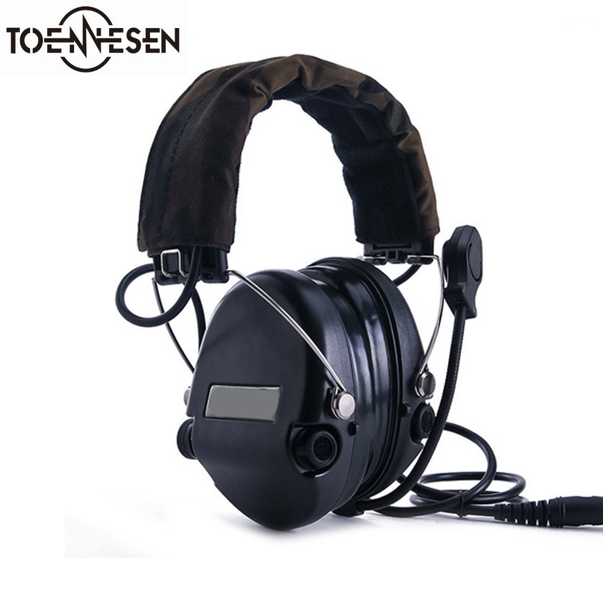 Electronic Sport Sound Amplification Shooting EarMuff, Comtac 4 by TOENNESEN