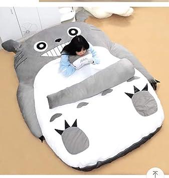 Tremendous Amazon Com Plush Totoro Sleeping Bag Sofa Bed Double Foam Machost Co Dining Chair Design Ideas Machostcouk