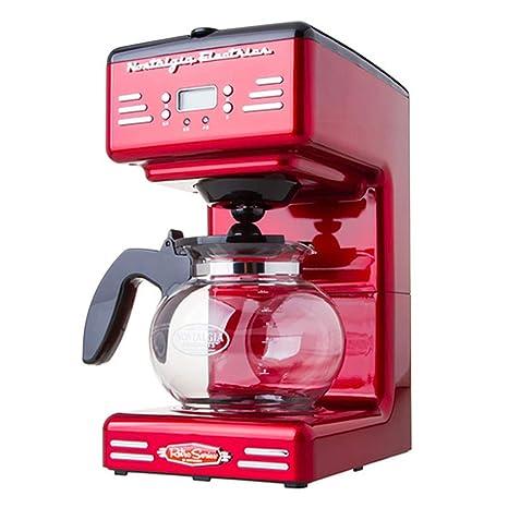 DPPAN Maquina de Cafe con Jarra térmica de 12 Tazas, Cafetera con Temporizador y Apagado