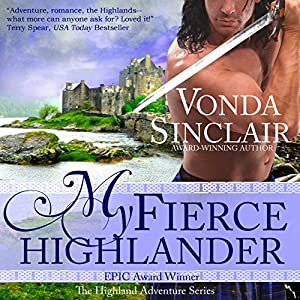 My Fierce Highlander Audiobook