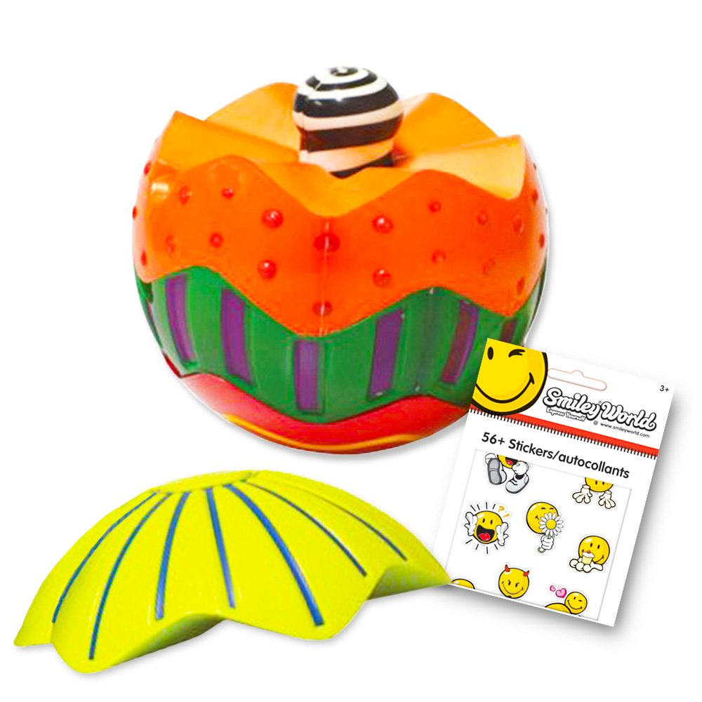 Hedstrom Sensory Stacking Ball Set -- Tactile Sensory Ball for Toddlers Kids with Reward Stickers (Fine Motor Skills Toys)