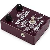 Caline Reverb Guitar Effects Pedal Metal True Bypass Reflector Brown CP-44