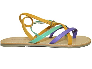 cf843570af4b Image Unavailable. Image not available for. Color  DE Fonseca Woman Shoes  Sandals with Leather ...