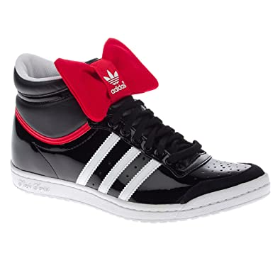 on sale 25c5f 32aa0 Adidas Top Ten Hi Sleek W Hi Sneaker 4,5 blk wht real