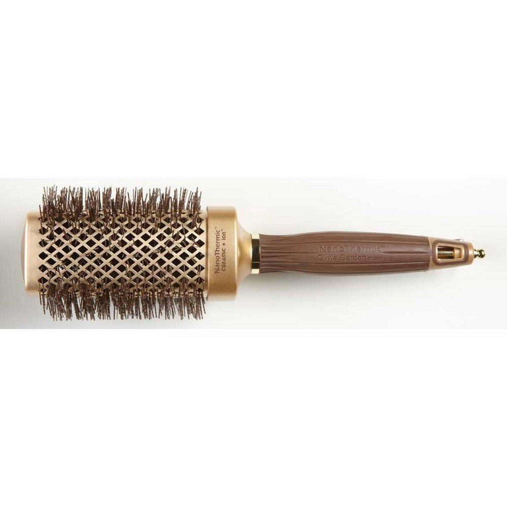 Olivia garden nanothermic ceramic ion shaper square hairbrush 1 hair brushes Olivia garden nanothermic brush