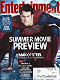 Henry Cavill, Man of Steel, Superman, Benedict Cumberbatch, Channing Tatum, Summer Movie Preview - April 19/26, 2013 Entertainment Weekly Magazine (SPECIAL DOUBLE ISSUE)