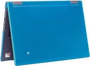 """mCover Hard Shell Case for 2019 14"""" Lenovo 14e Series Chromebook Laptop (NOT Fitting Older 14"""" Lenovo N42 / S330 and 11.6"""" N22 / N23 / N24, etc Chromebook) (LEN-C14e Aqua)"""