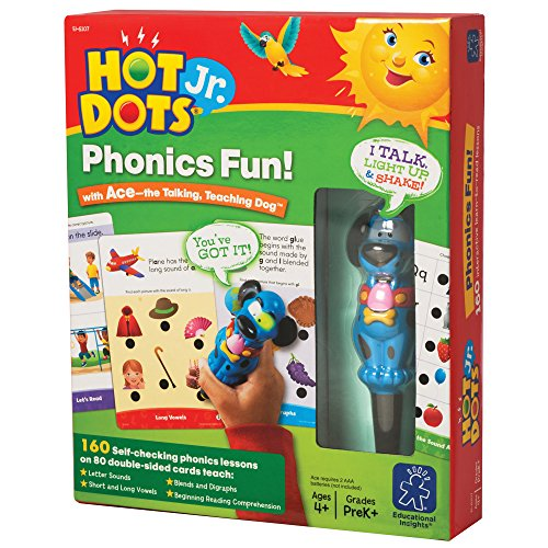 - Educational Insights Hot Dots Jr. Phonics Fun! Set with Ace Pen