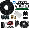 "Koram Drip Irrigation Gardener's Drip Kit include 1/2"" 1/4"" Tubing and Fittings OT-A"