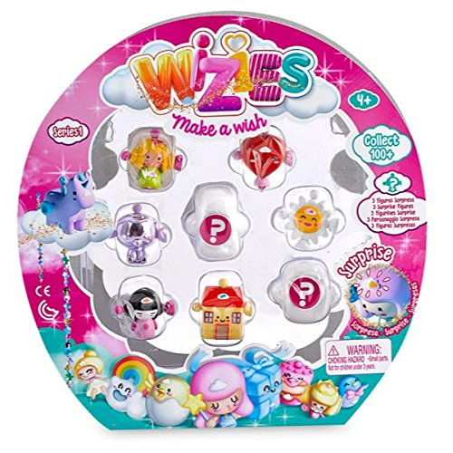 Famosa Wizies Pack 8 Figuras 700014293 Juguetes Pastor S.L.