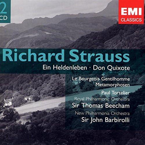 R.Strauss: Ein Heldenleben - Don Quixote: Sir John Barbirolli, Sir Thomas  Beecham: Amazon.it: Musica