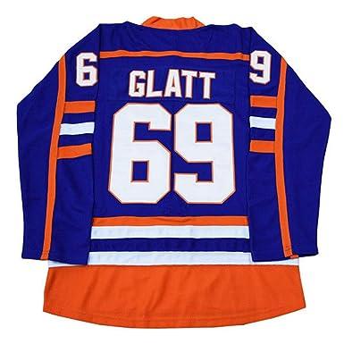 dd926d96b Kooy Goon Doug The Thug Glatt Halifax Highlanders  69 Movie Hockey Jersey  (Small)