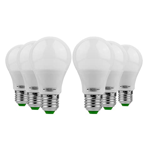 XSRKHome Light E26 / E27 LED 5W 400-500lm 10led 5730SMD Bombillas de globo Blanco