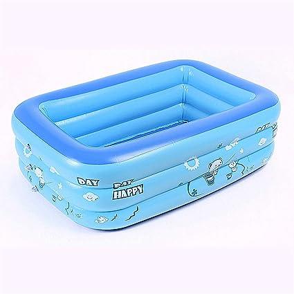 Mitrc Piscina Inflable para niños, bañera de Material Inflable ...