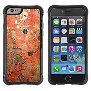iArmor / Rustic Red Worn Paint Pattern / Apple iPhone 6