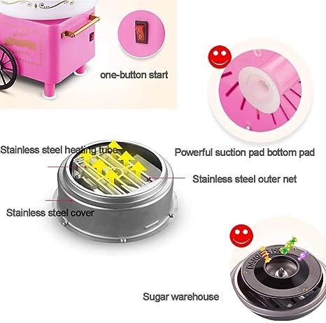 MU Máquina eléctrica de algodón Dulce para el hogar Kids Floss ...
