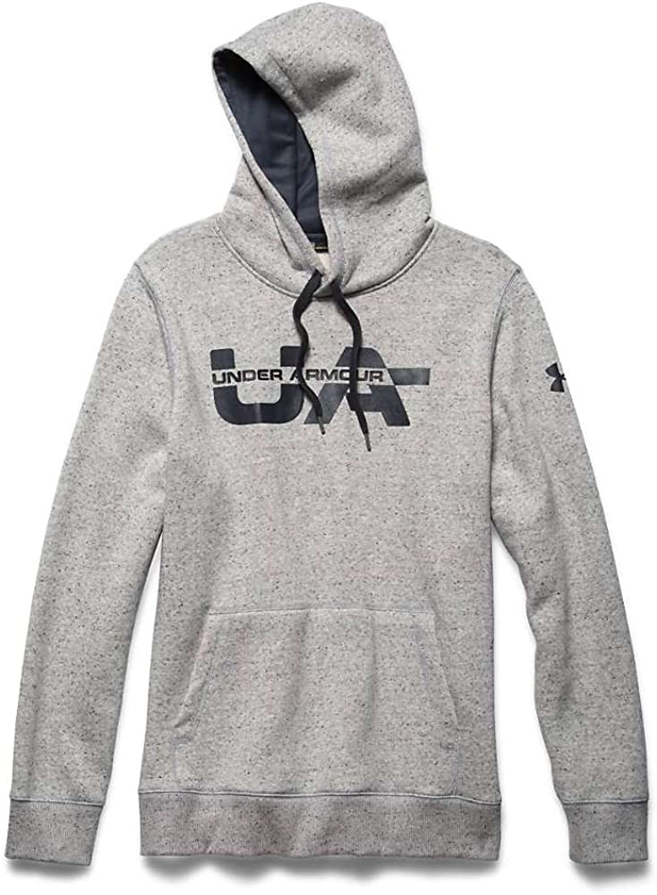 Under Armour Mens Ua Rival Cotton Novelty Hoodie