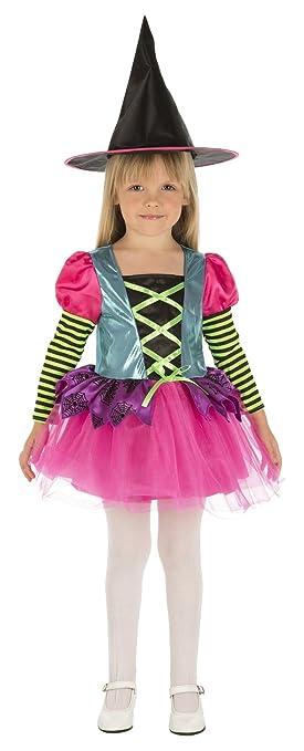 My Other Me Me-203989 Disfraz de Brujita color para niña, 3-4 años ...