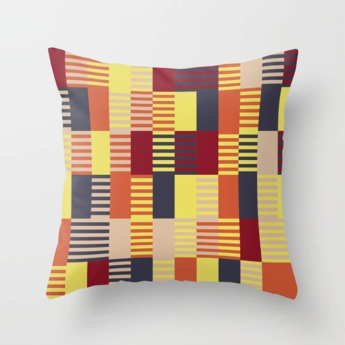 jinhua19 Fundas para Almohada Pillow Case Bauhaus Cushion ...