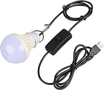 Onite USB LED Camping Lantern, Mobile Power Emergency Lights for Outdoor Hiking Tent Car Garage Warehouse Bedside