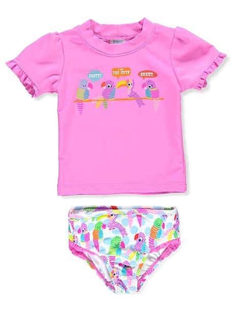 Amazon.com: KIKO & MAX - Traje de baño para niña con ...