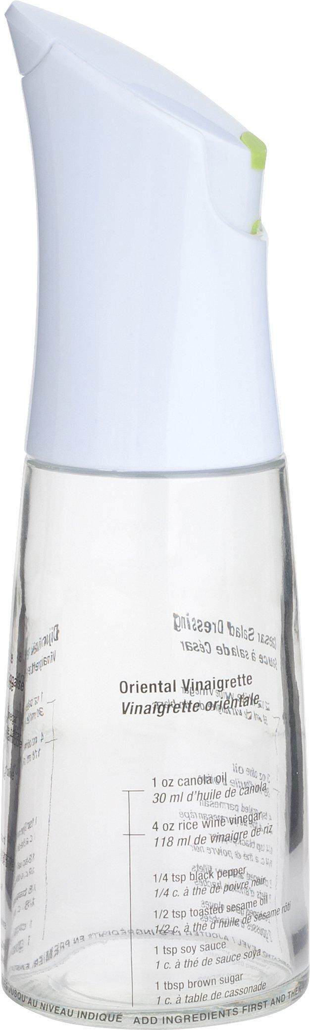 Trudeau Perfect Dressing Vinaigrette Mixer Bottle, 12-Ounce by Trudeau (Image #1)