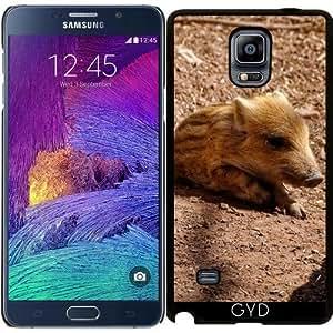Funda para Samsung Galaxy Note 4 (N910) - Adorable Bebé Jabalí by More colors in life