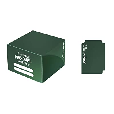 Ultra Pro Dual Deck Box, Standard, Green: Toys & Games