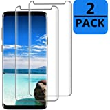 Galaxy S9 Screen Protector [Easy to Install][HD - Clear][Case Friendly][Anti-Fingerprint] Premium Tempered Glass Screen Protector for Samsung Galaxy S9 … 2 Pack