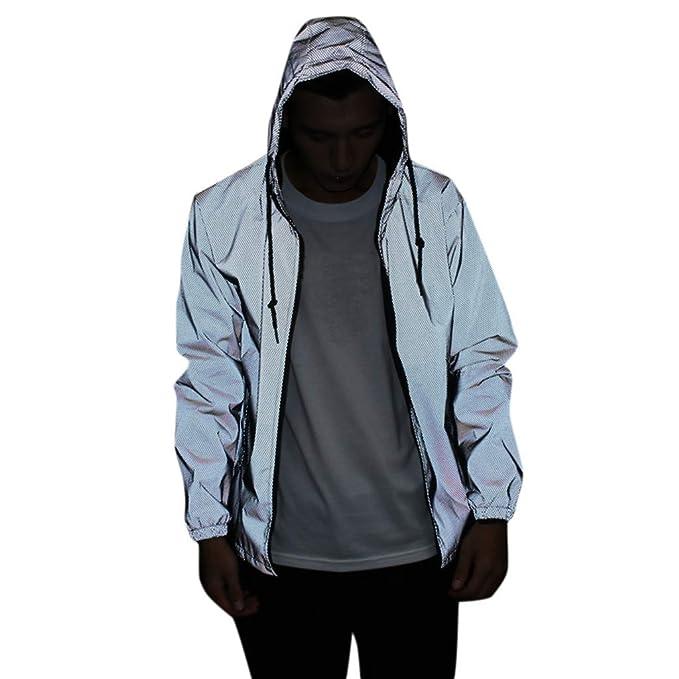 cobcob Mens Zipper Sportwear,Males Hooded Drawstring Patchwork Jackets Long Sleeve Outwear Sweatshirt