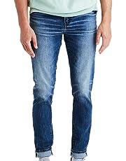American Eagle Men's 5045914 Ne(x) t Level Airflex Slim Jean, Medium Vintage