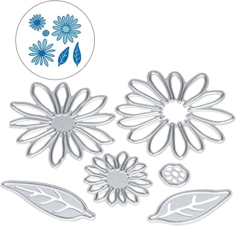 Metal Cutting Flower Shape Dies and Stamps Stencils DIY Scrapbooking Celebrate