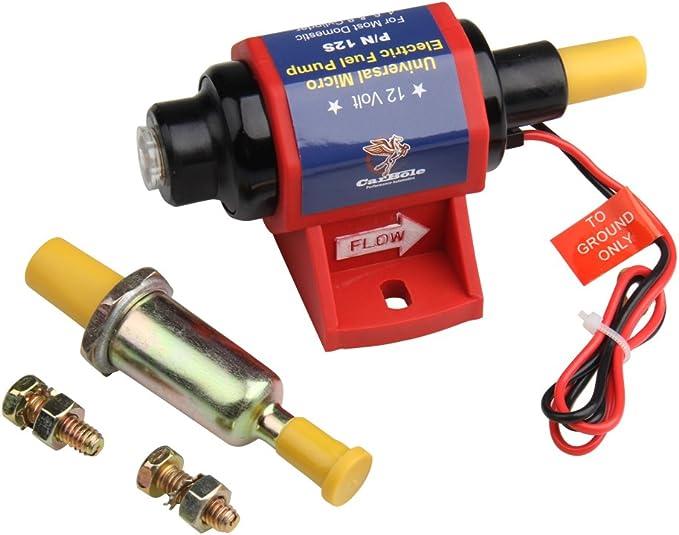 12V 4-7PSI 35GPH High Performance Electric Gasoline Fuel Pump 12S w// Carburetor