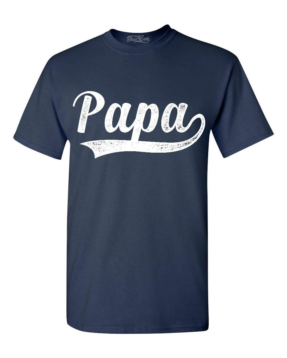 Papa Classic Baseball T Shirt 2211