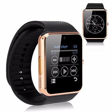 Reloj inteligente con Bluetooth FT08, con puerto para tarjeta SIM, para Android, Samsung