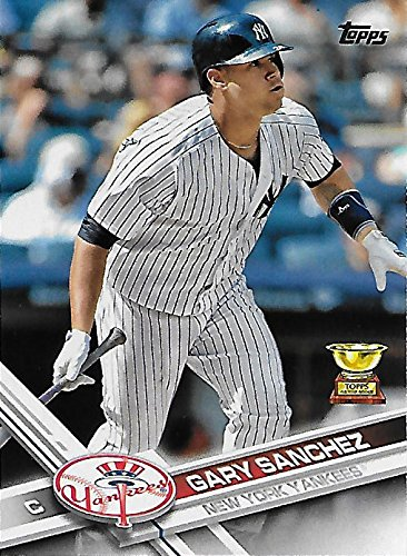 Gary Sanchez 2017 Topps Mint All Star Rookie Award Card #7 Picturing This New York Yankees Star in his Pinstriped Jersey ()