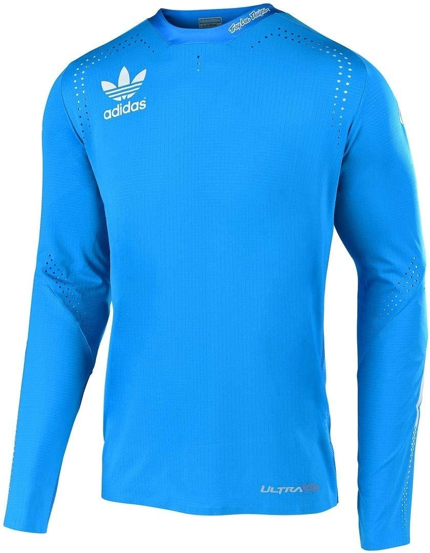 Troy Lee Designs Ultra Adidas Team Maillot Bleu Taille L