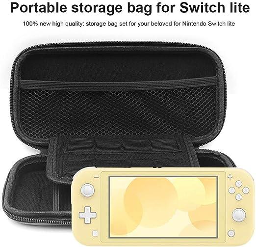 Campinery Juego de Almacenamiento de Cassette para Switch Lite Case, Game Traveler Deluxe y Storage Case para Switch Lite NS Mini Host Protection Bag Handy Functional: Amazon.es: Hogar