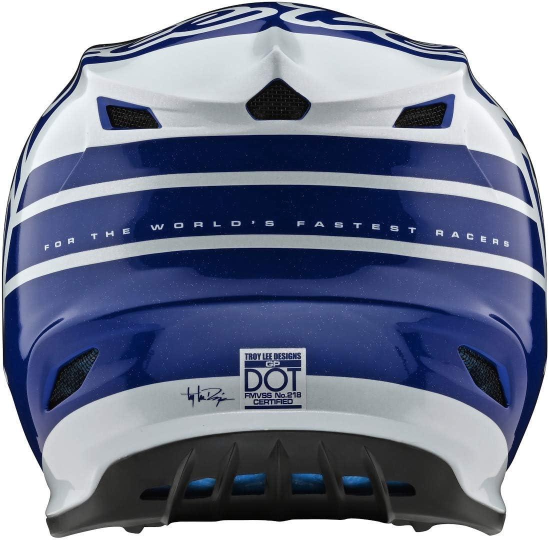 Navy//White Large Silhouette Troy Lee Designs 2020 GP Helmet