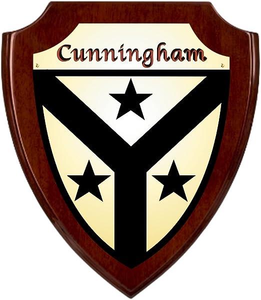 Amazon.co.jp: Cunninghamアイルランドの国章シールドPlaque – ローズ ...