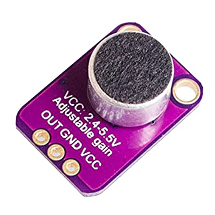 MagiDeal Módulo Interrupción Amplificador Micrófono Electret Sensor GY-MAX4466 para Arduino