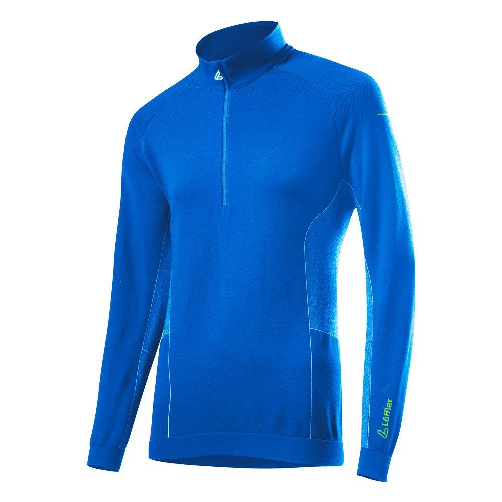 Löffler Transtex Hybrid Sweater - deep Blau