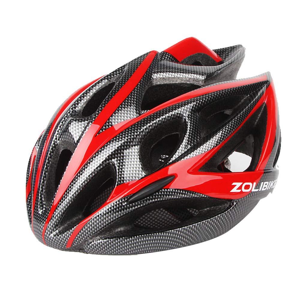 Fahrradhelm, leichte Fahrradhelm, professionelle Fahrradhelm, Verstellbare Auflage, geeignet für Männer und Frauen