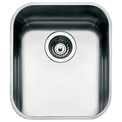 Amazon.com: Smeg UM40 Rectangular Stainless steel Undermount sink ...