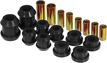 Prothane 8-218-BL Black Front Upper and Lower Control Arm Bushing Kit